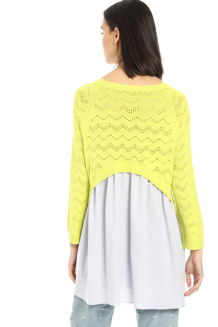 Long sleeve mesh sweater Intrend