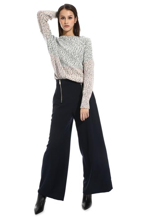 Cotton lamé sweater Intrend