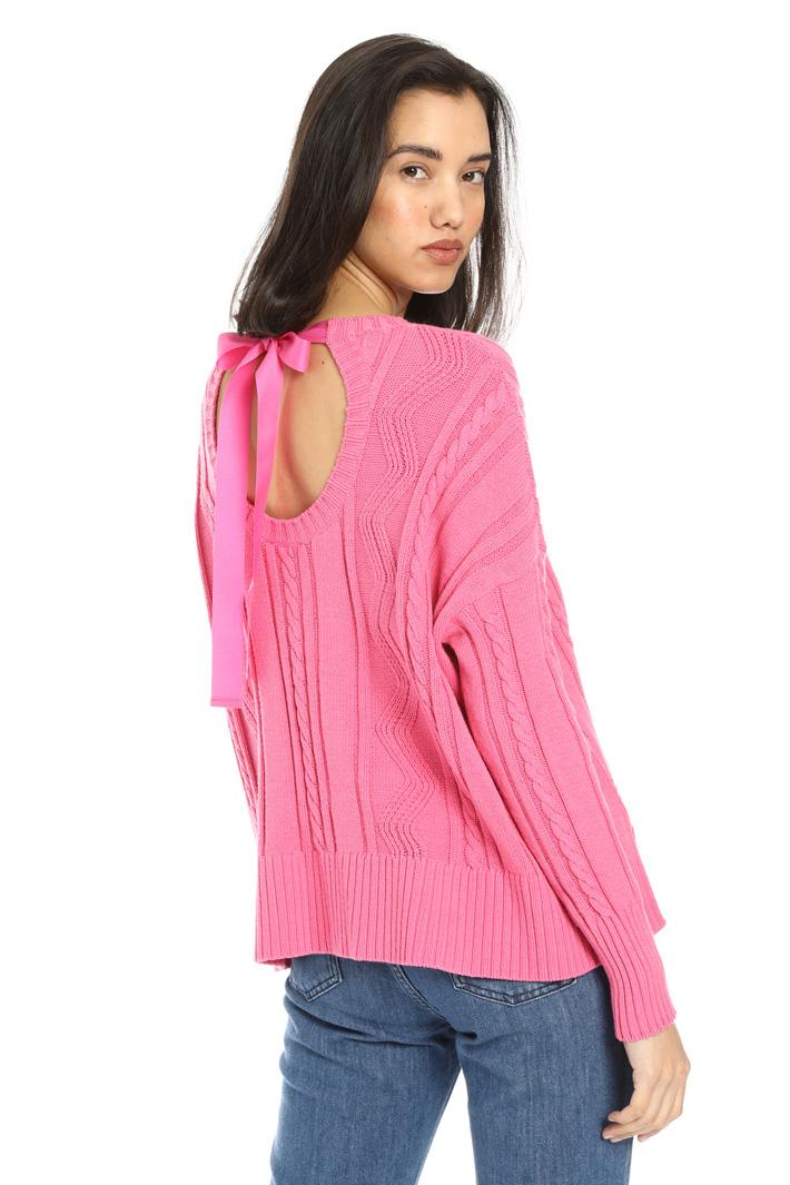 Mix stitch sweater Intrend