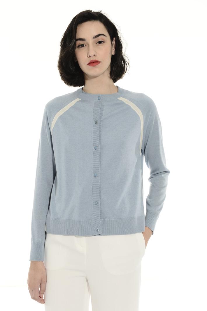Wool and silk cardigan Intrend