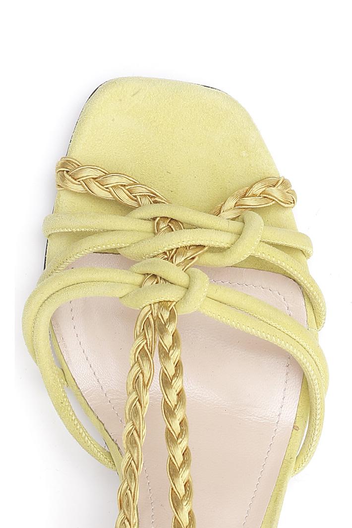Tubular sandal with braids Intrend