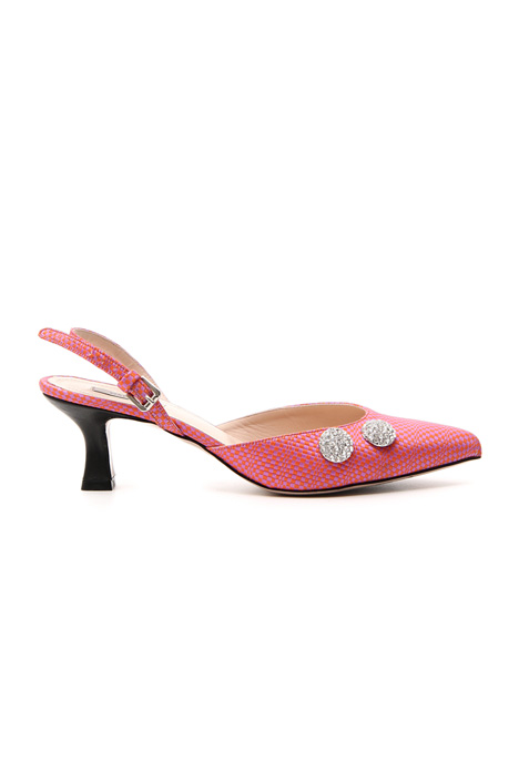 Cotton crepe slingback    Intrend