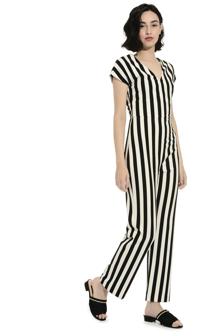Long jersey jumpsuit Intrend