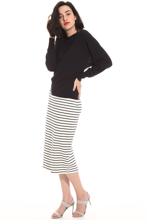 Viscose sheath skirt Intrend