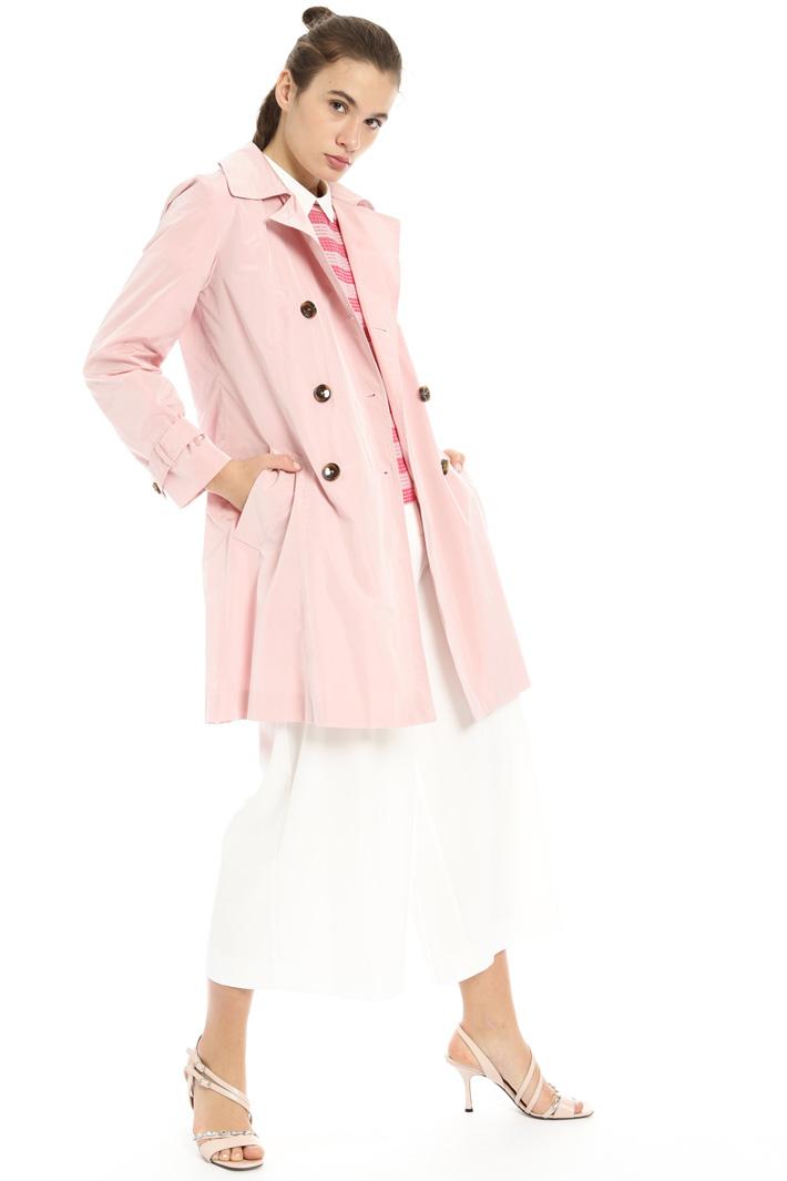 Taffeta duster coat Intrend