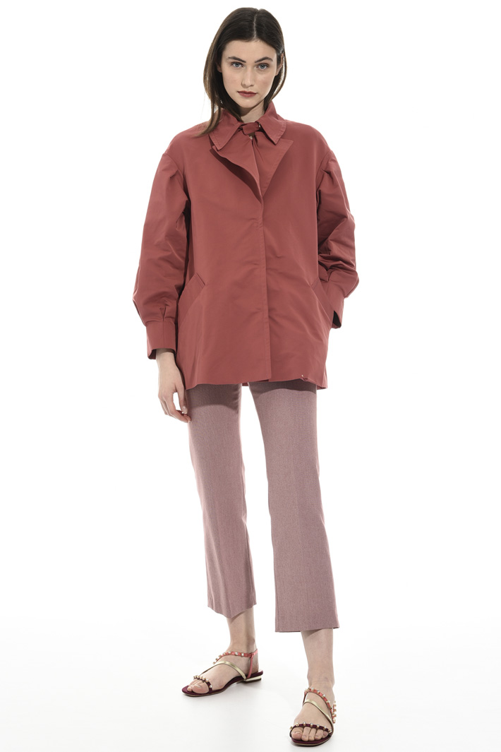 Cotton faille jacket Intrend