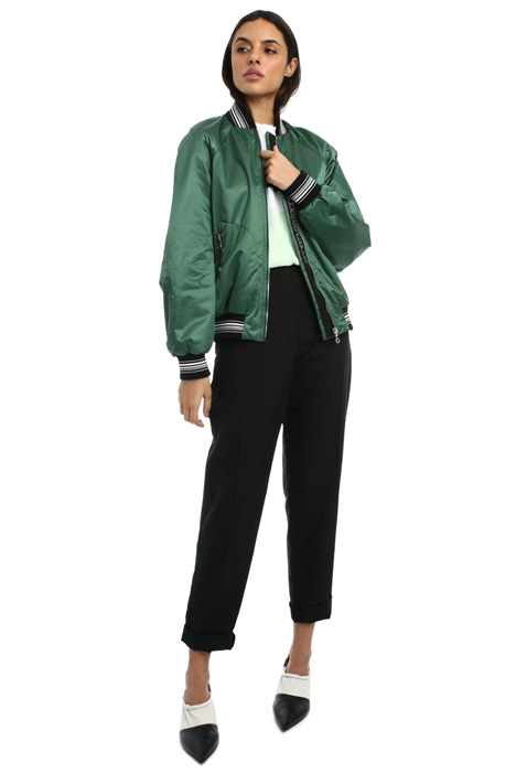 Satin bomber jacket Intrend