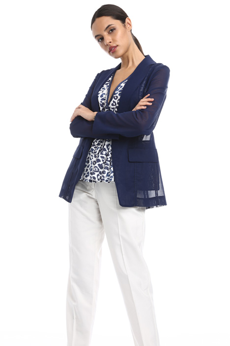 Cotton voile blazer Intrend