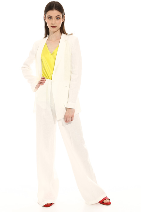 Unstructured linen blazer Intrend