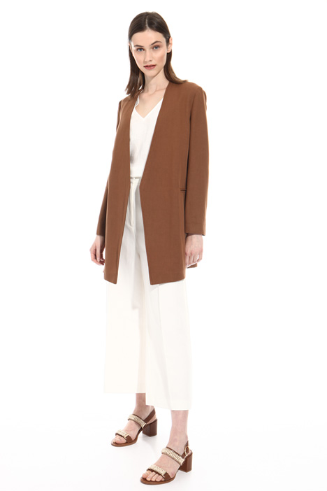 Cotton and linen blend jacket Intrend