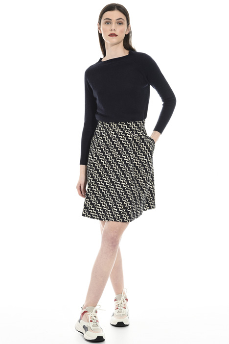 Stretch faille skirt Intrend
