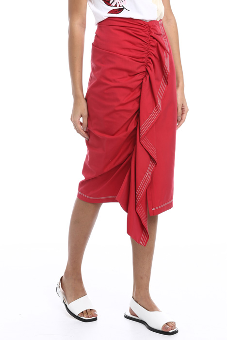 Flounced sheath skirt Intrend