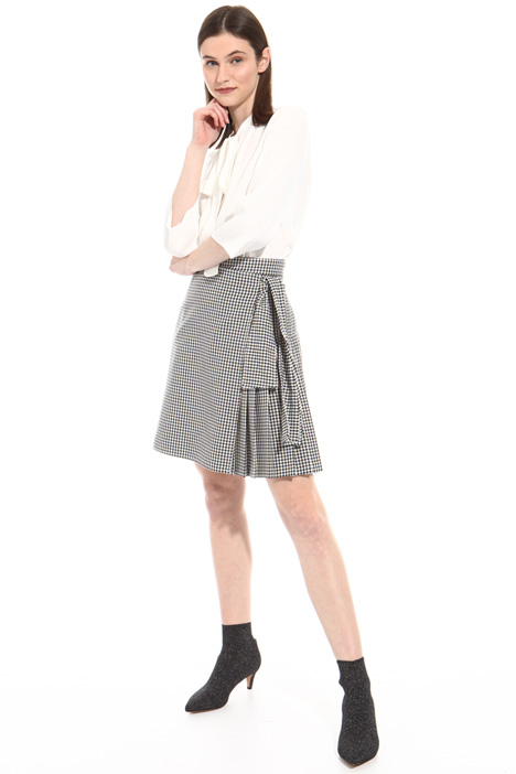 Wrap-up short skirt Intrend