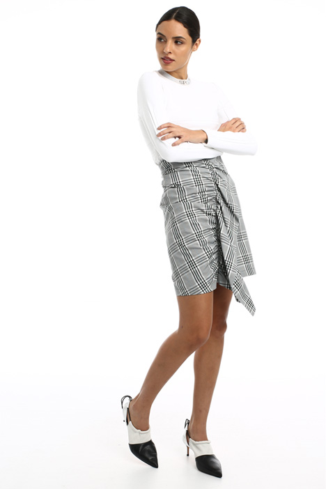 Ruffled short skirt Intrend