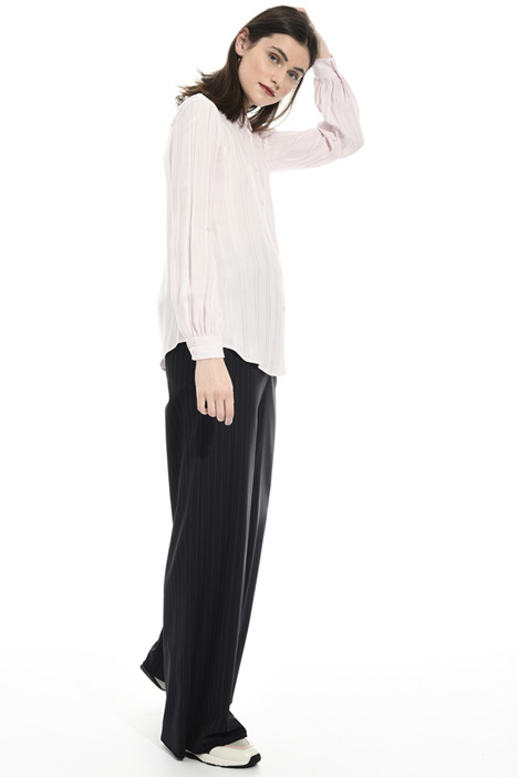 Ribbed viscose shirt Intrend