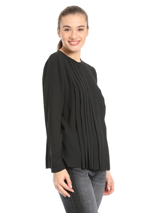 Pleated blouse Intrend