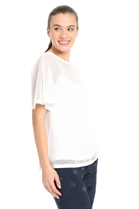 Cotton tulle tunic Intrend