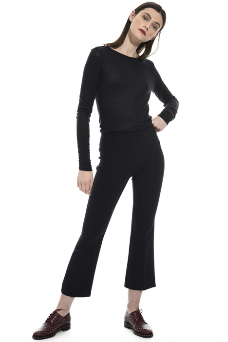 Cropped flared trousers Intrend
