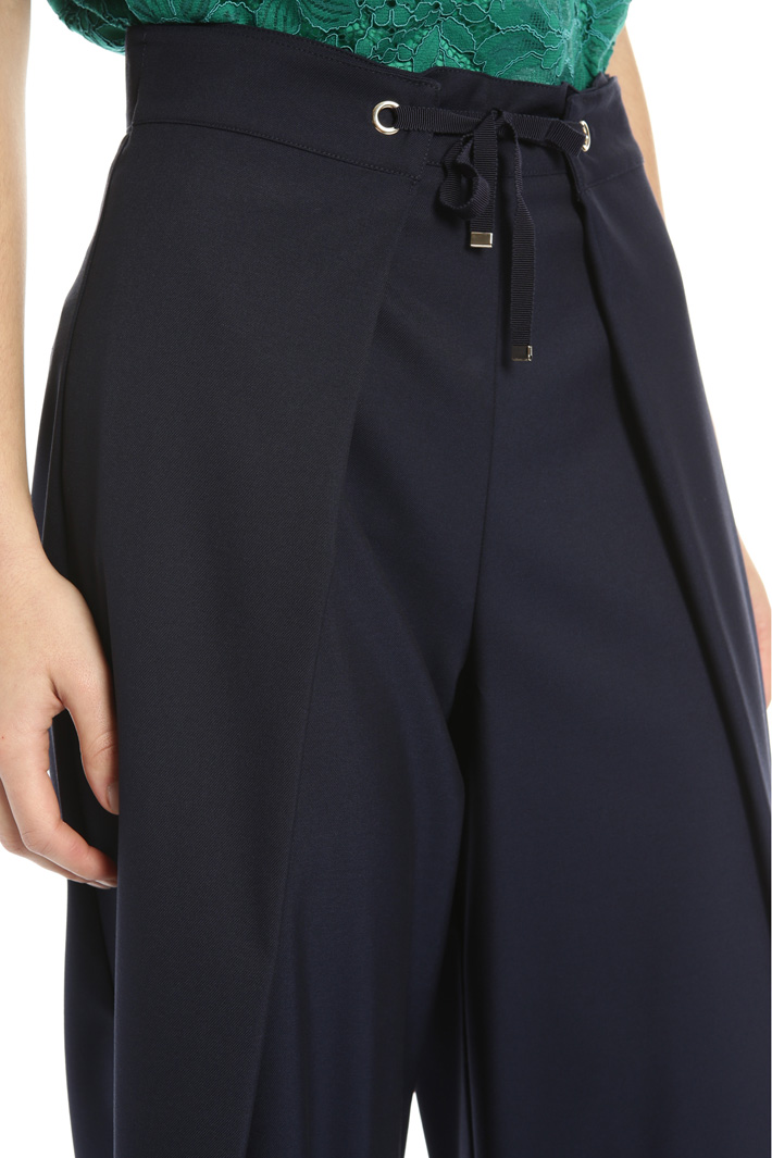 Cropped palazzo trousers Intrend