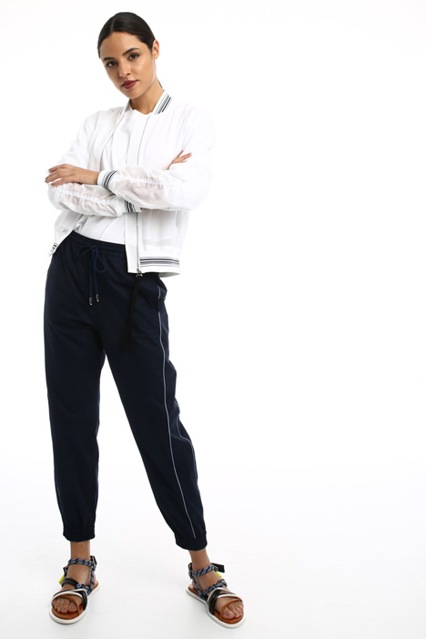 Jogging style cotton trousers Intrend