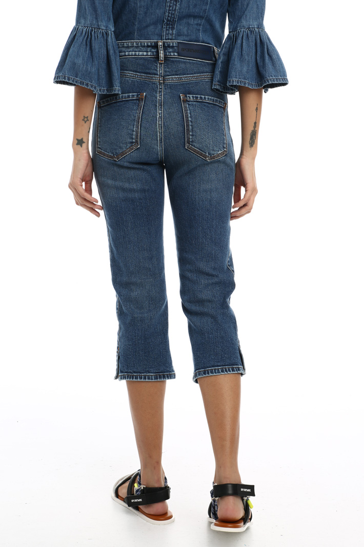 Five pocket cropped jeans Intrend