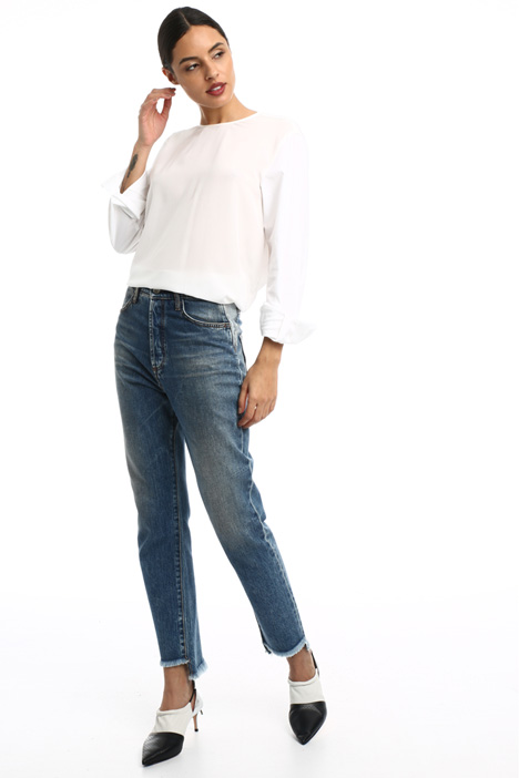 Jeans in denim di puro cotone Intrend