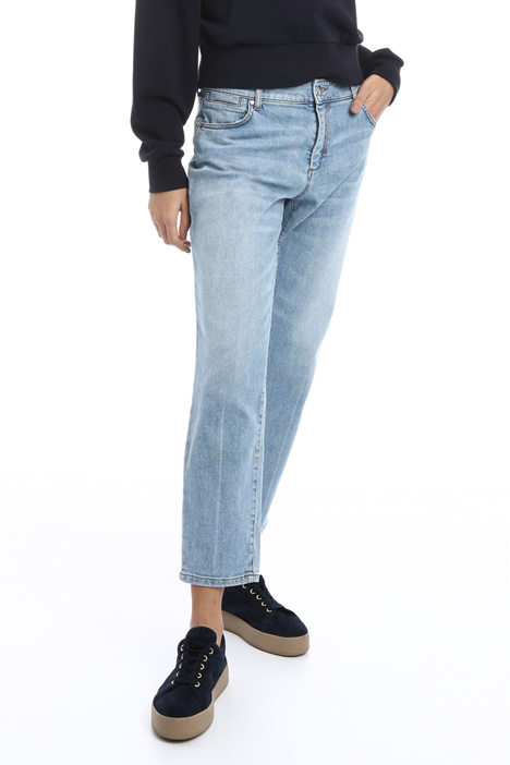 Regular fit denim trousers Intrend