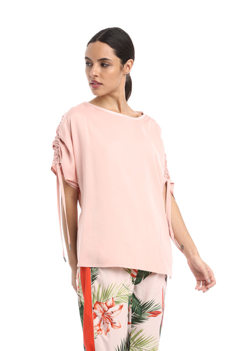 Drawstring sleeve tunic Intrend