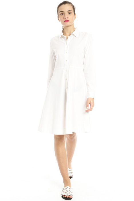 Cotton chemisier dress Intrend