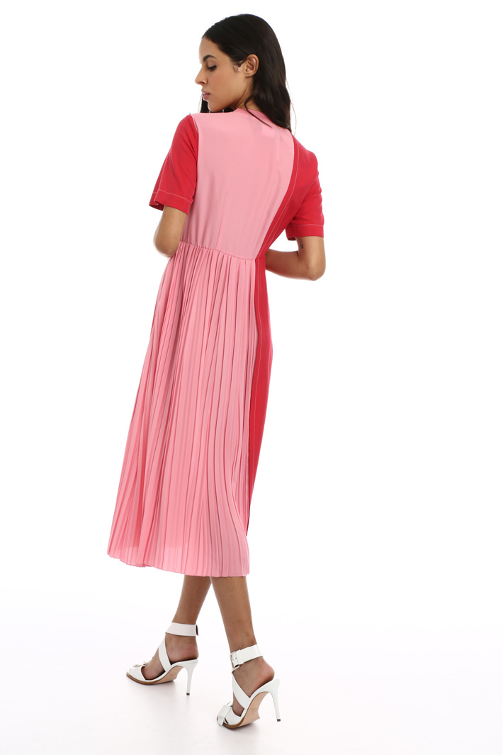 Front pleated dress Intrend