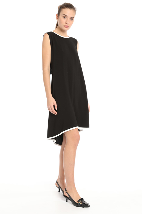 Flid crepe dress Intrend