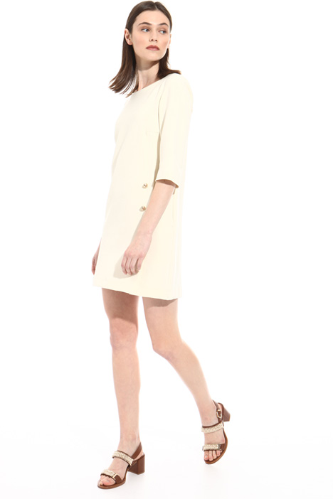 Double fabric buttoned dress Intrend
