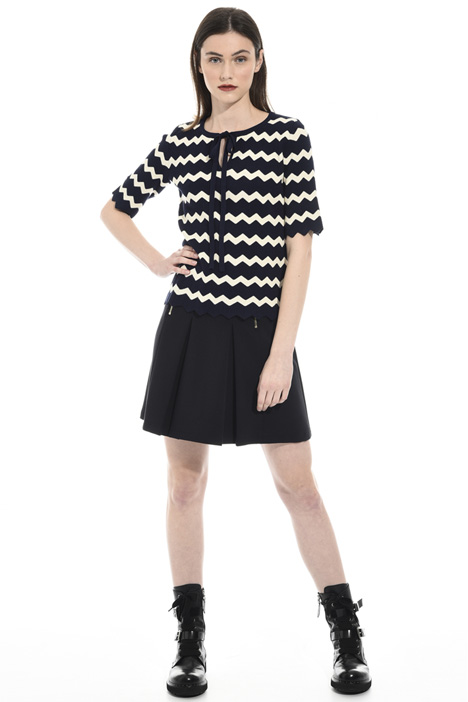 Zigzagged sweater Intrend