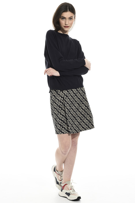 Viscose and lurex sweater Intrend