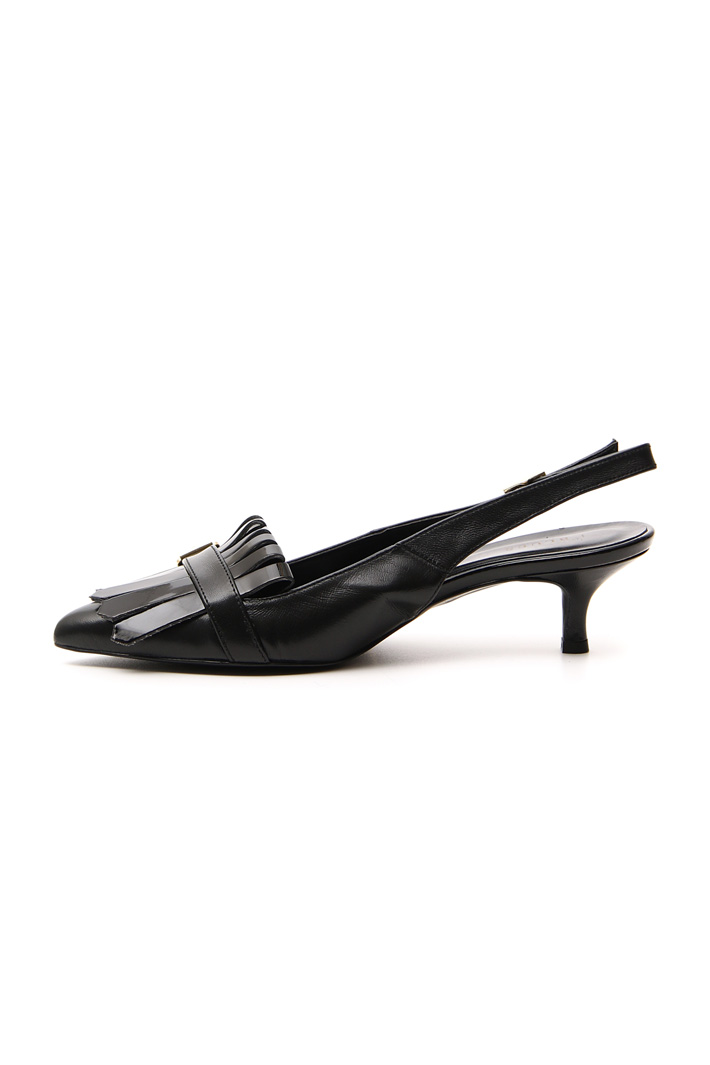 Patent leather slingback Intrend