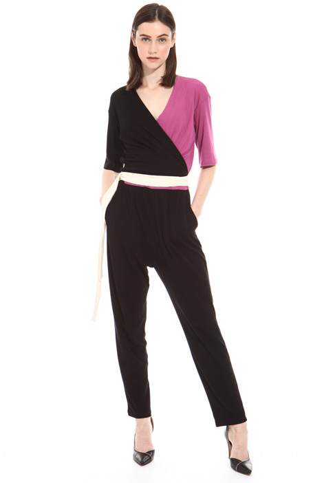 Cotton crepe jumpsuit Intrend