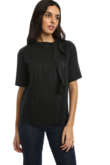 Pleated front Top Intrend