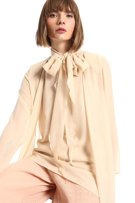 Pure silk duster coat Intrend