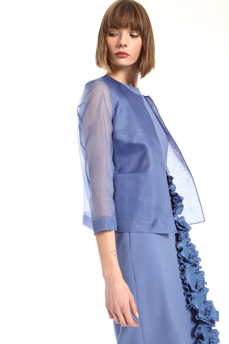 Pure silk organza jacket Intrend