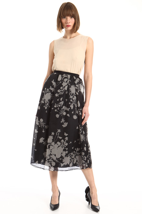 Pure silk skirt Intrend