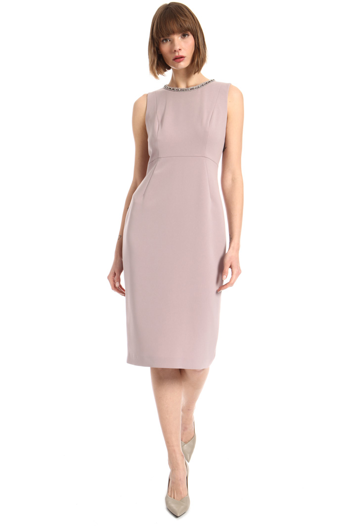 Cady dress with rhinestones Intrend