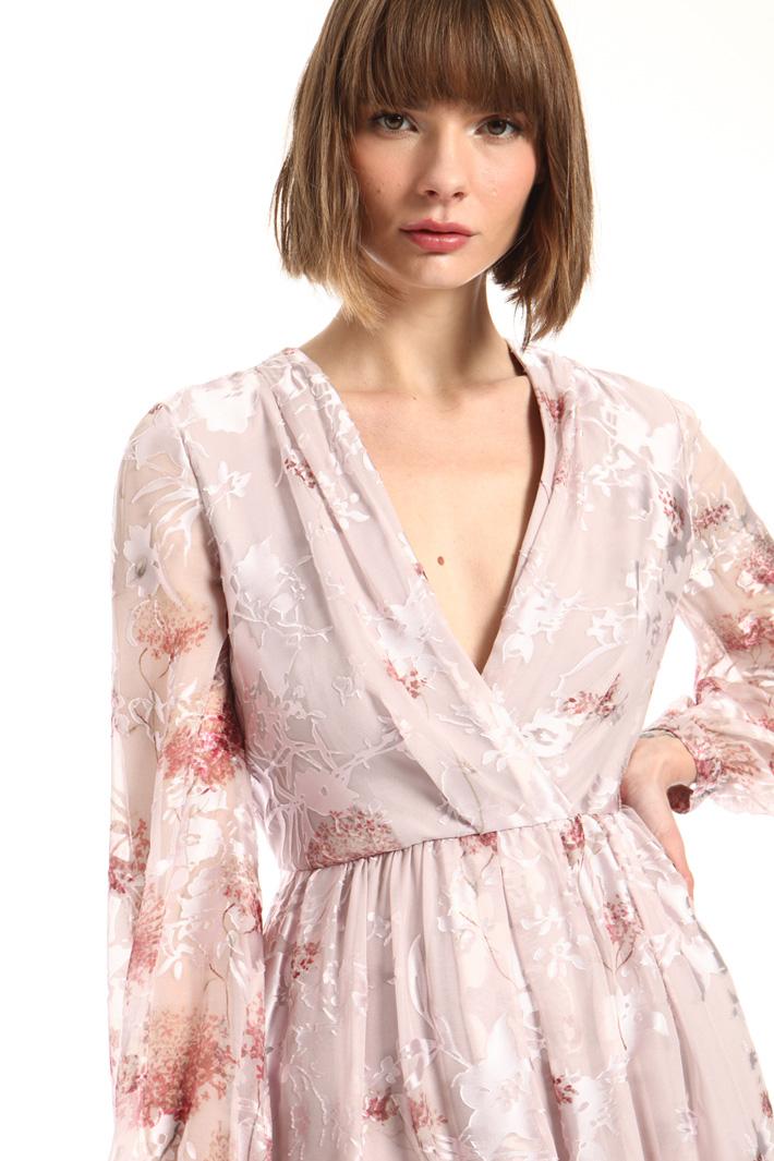 Silk blend satin dress Intrend