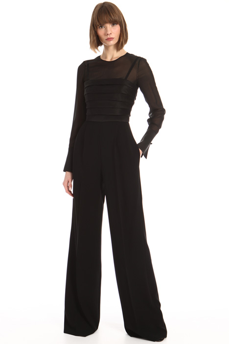 Georgette bodice jumpsuit Intrend