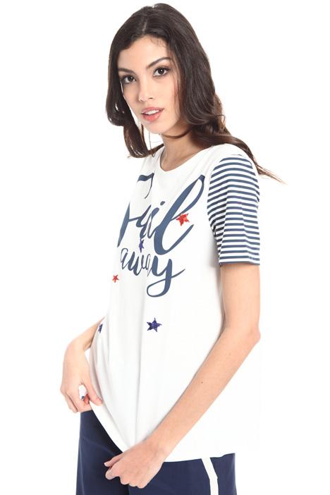 T-shirt in cotone stretch Intrend
