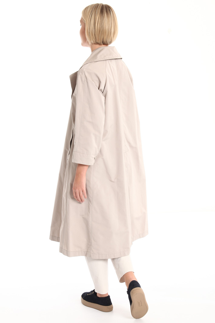 Waterproof faille trench Intrend