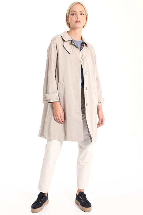 Reversible waterproof trench Intrend