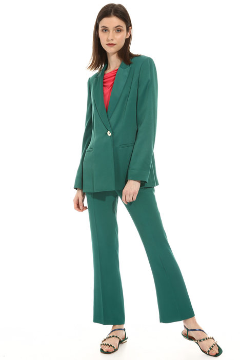 Unstructured satin blazer Intrend