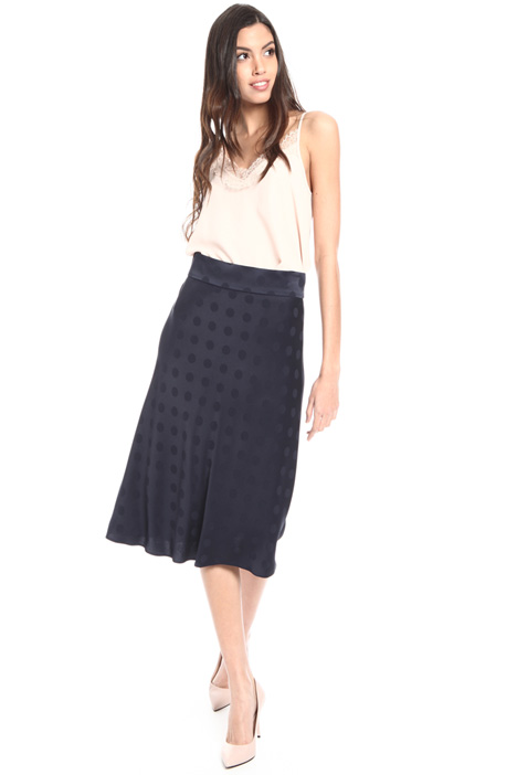 Fluid jacquard skirt Intrend