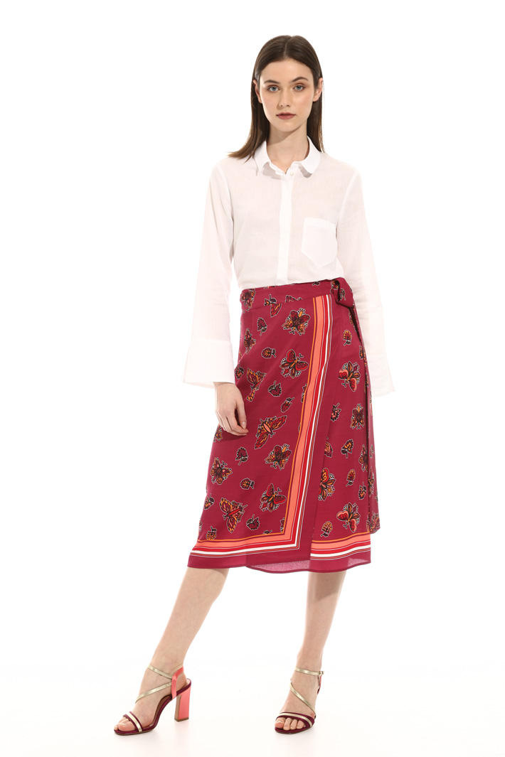 Wrap-up skirt Intrend
