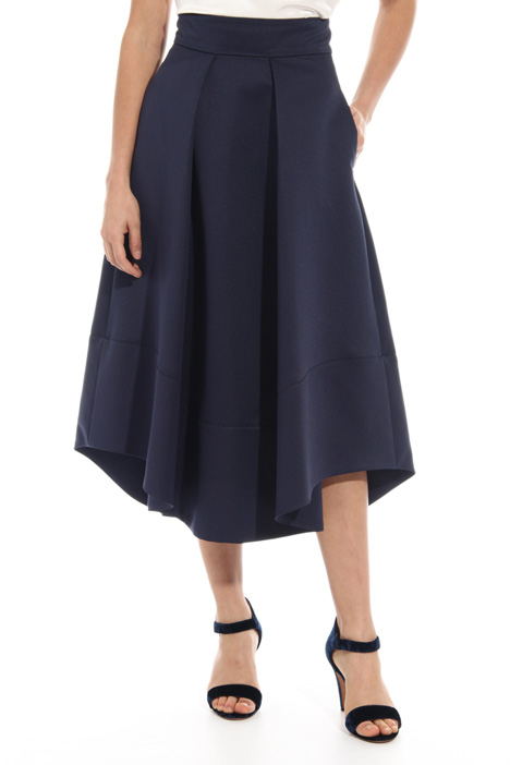 Round bottom twill skirt Intrend